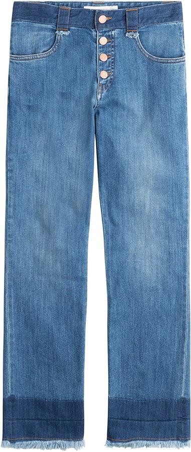 See by Chloe Frayed Hem Jeans ($305)