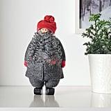 Vinterfest Fuzzy Santa Claus Decoration