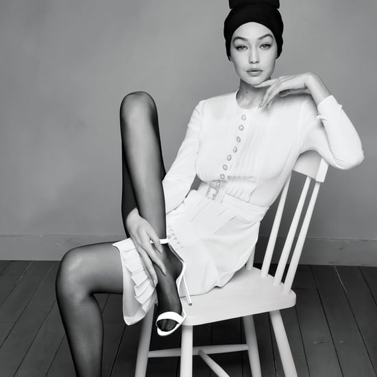 Gigi Hadid Wears Haute Couture Dresses in Harper's Bazaar