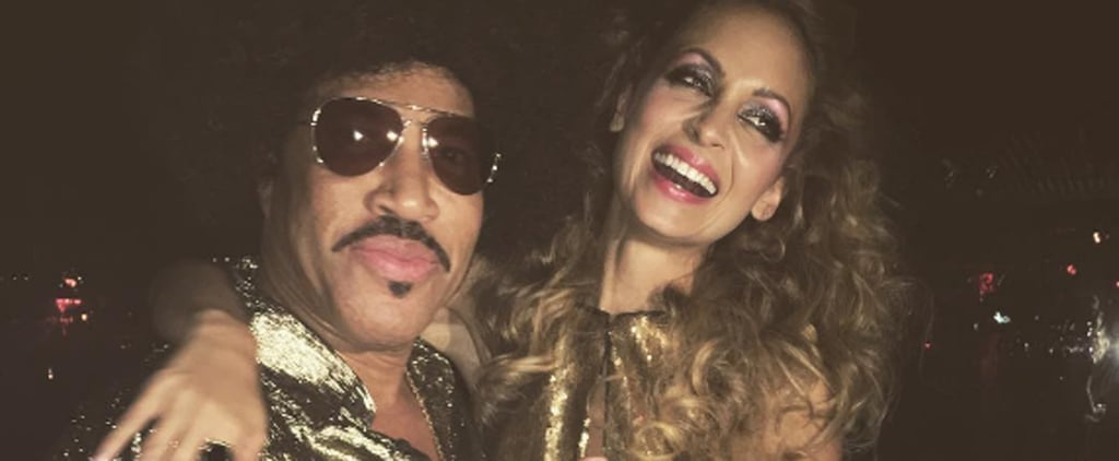 Go Inside Nicole Richie's Disco-Themed 35th Birthday Party