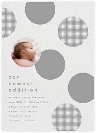 Polka Dot Baby by The Indigo Bunting (also available for paper)