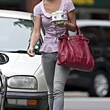 Pippa Middleton in the middle of her London work week.