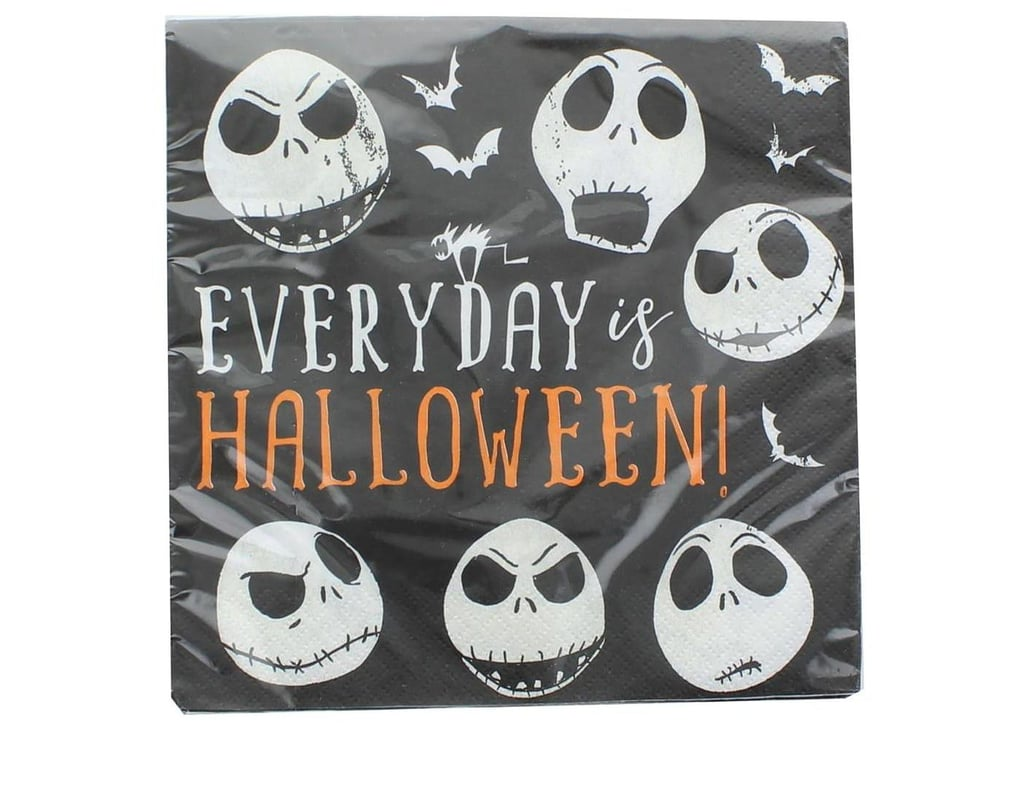"""Target's Nightmare Before Christmas 6.5"""" Party Lunch Napkins"""