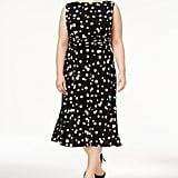 Jessica Howard Polka-Dot Midi Dress