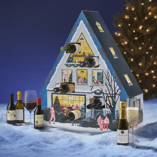 This Wine Lovers' Advent Calendar Is Shaped Like a House