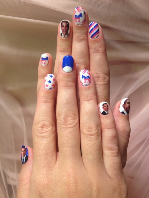 Katy Perry's Nail Wraps