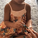 Chrissy Teigen's Daughter Luna Paints Her Nails
