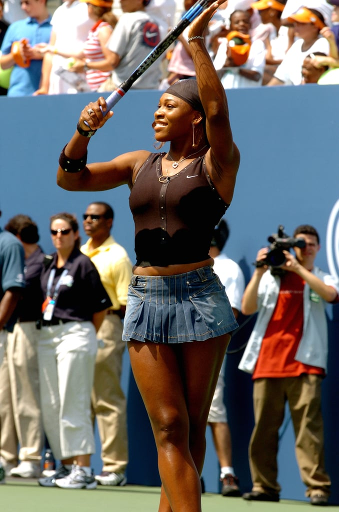 The Embellishment on Serena Williams's Top Was Classic 2004