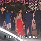Nick Jonas and Priyanka Chopra at a Party in India June 2018