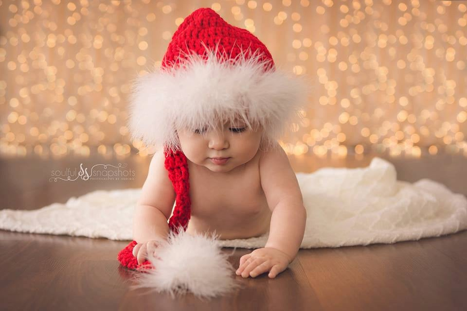 Crocheted Christmas Outfits For Babies  b321b29e8287