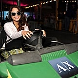 Coachella's Neon Carnival Draws Vanessa Hudgens, Alexander Skarsgard, and Even Clint Eastwood!