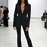 Jourdan Dunn at the Mugler Paris Fashion Week Show