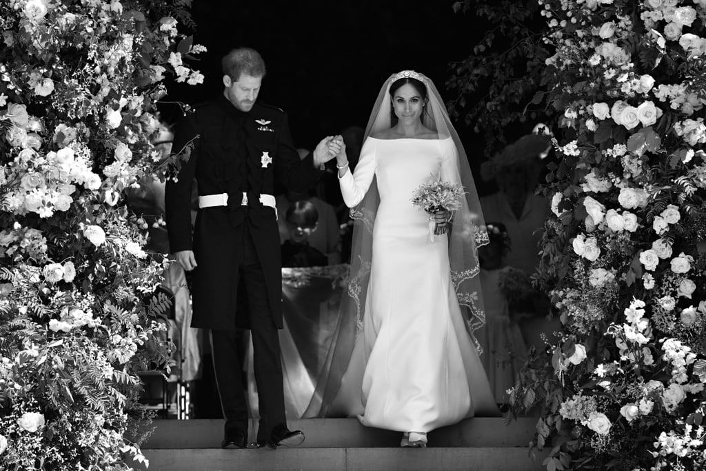 Black And White Photo Royal Wedding