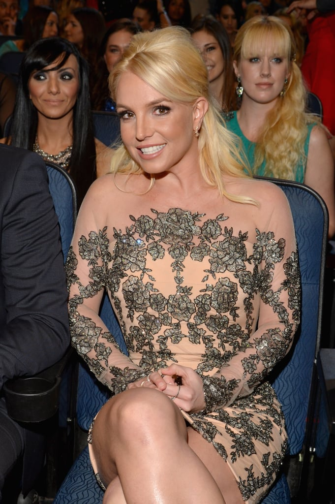 Britney Spears Makes a Rare Award-Show Appearance