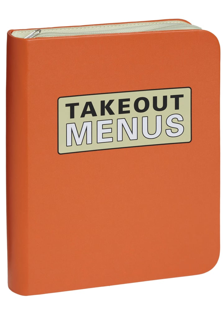 You guys like to keep it real, and this takeout menu organizer ($22) does just that.