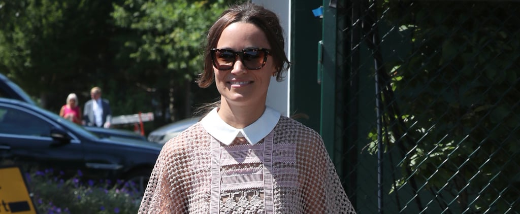 Pippa Middleton Self-Portrait Dress at Wimbledon