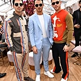 Joe, Kevin, and Nick Jonas at the 2020 Roc Nation Brunch in LA