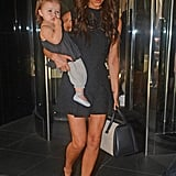 Victoria Beckham and Harper Beckham were in NYC.