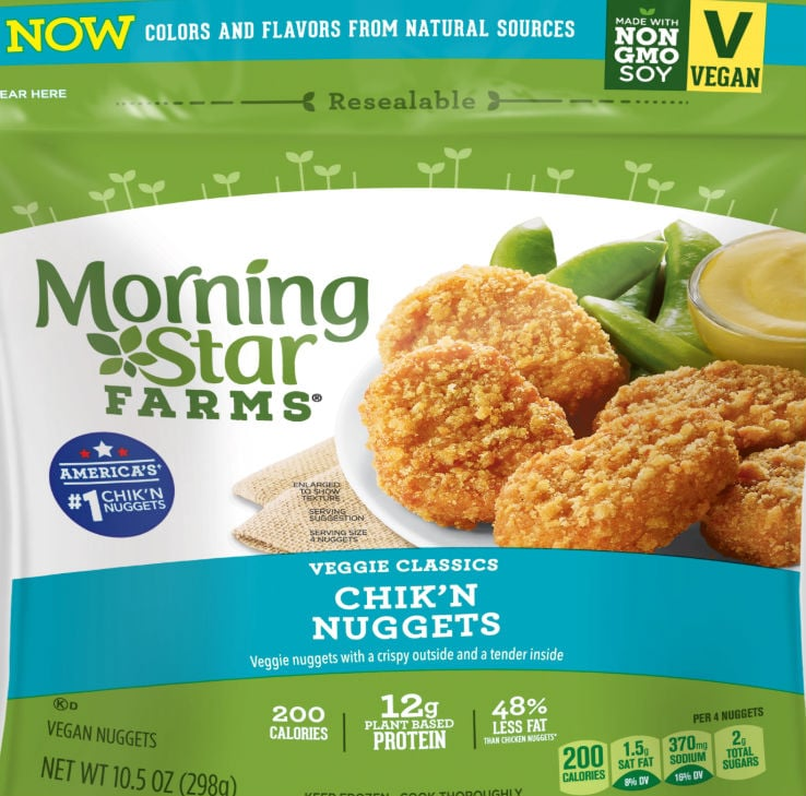 Morningstar Farms Chik N Nuggets These Protein Packed And Inexpensive Chicken Nuggets Got Me Through College And They Re Meatless Popsugar Fitness Photo 3