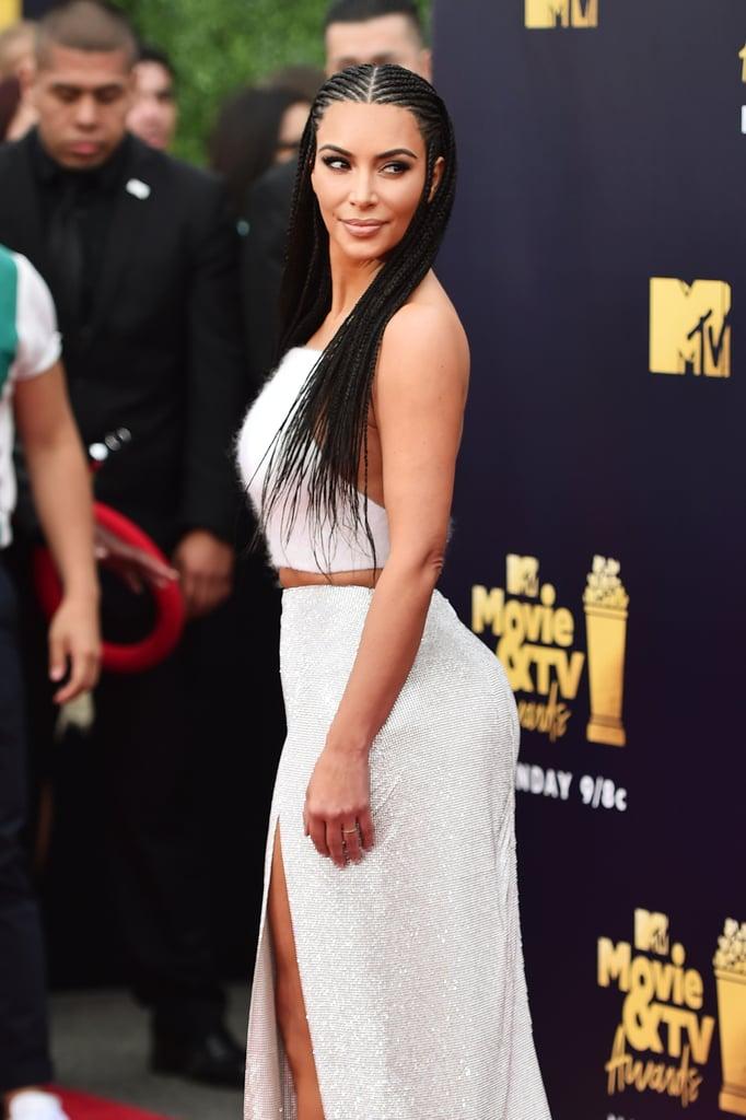 Kim Kardashian at 2018 MTV Movie and TV Awards Pictures