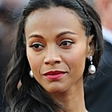 Zoe Saldana wore David Yurman jewels.