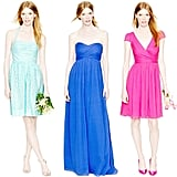 Whether you've nailed down your color scheme for the big day or you're seeking a little dressing inspiration, POPSUGAR Style & Trends has done the legwork to make finding the perfect shade, cut, and price point for your bridal party a little easier.