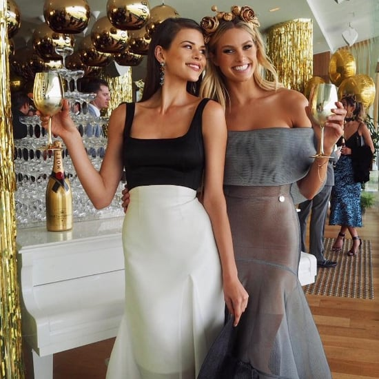 Celebrity Instagram Pictures From Stakes Day 2016