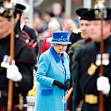 On the day Queen Elizabeth II became the longest reigning monarch in British history, Sept. 9, 2015.