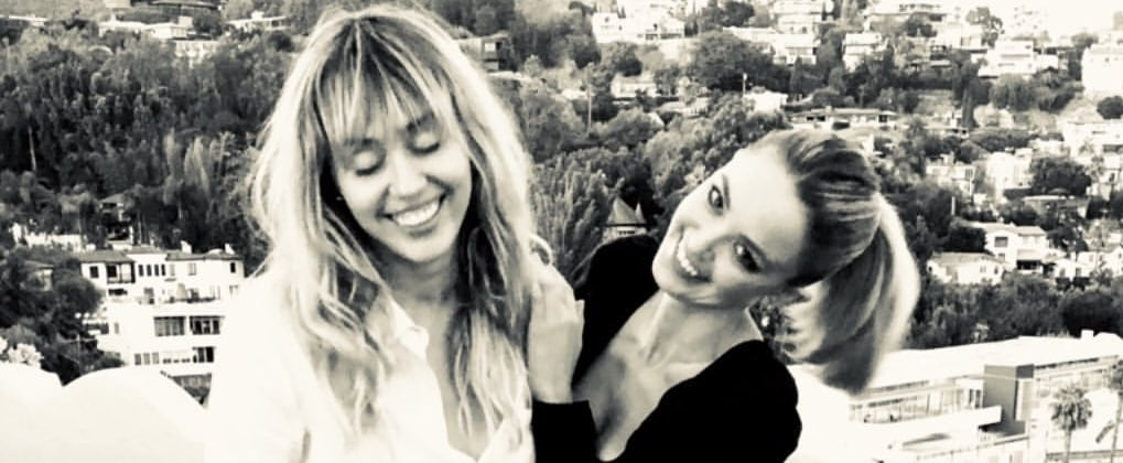 Miley Cyrus and Kaitlynn Carter's Cutest Pictures