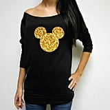 Glittery Mickey Mouse Shirt