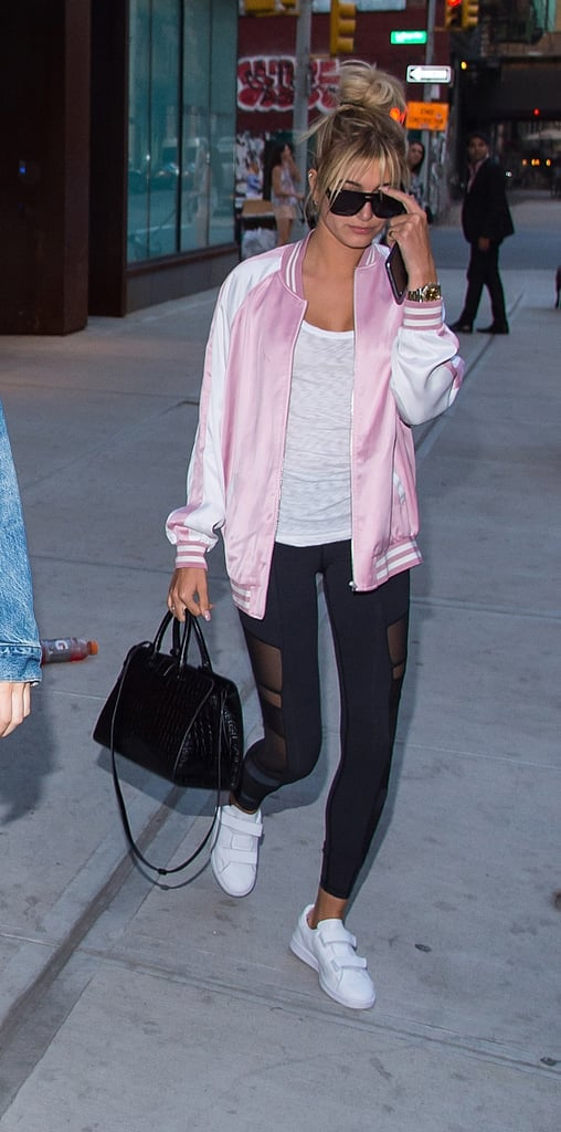 Bonus: This Summer Staple Also Looks Great With Leggings, as Demonstrated by Hailey Baldwin