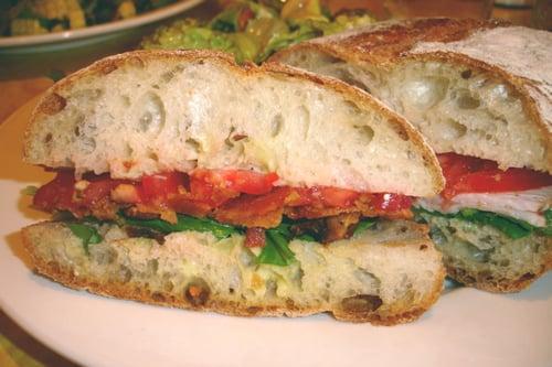 'Ino's Pancetta, Lettuce, and Tomato