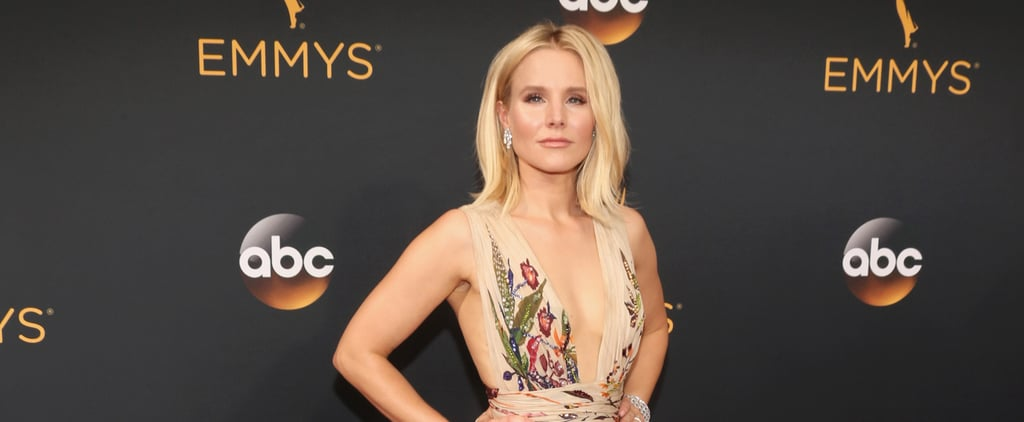 A Glance at Kristen Bell's Floral Gown at the Emmys Will Get You So Excited For Summer
