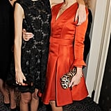 Alexa Chung linked up with Pixie Geldof at the British Fashion Awards in London.