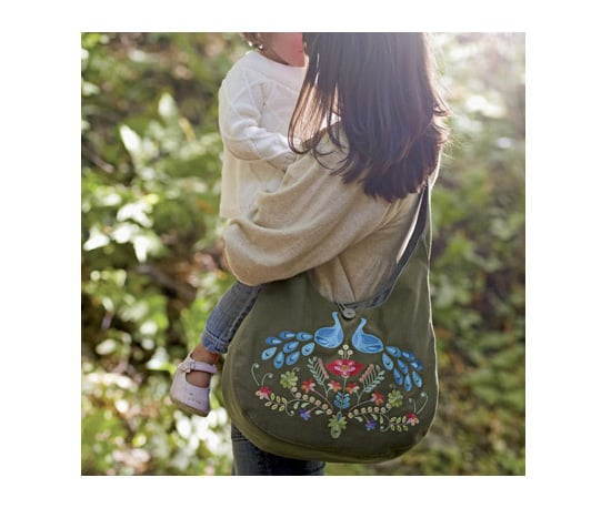 Peacock Gypsy Tote