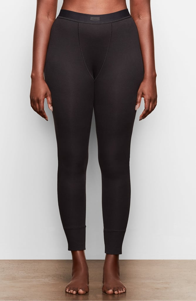 SKIMS Cotton Rib Thermal Leggings