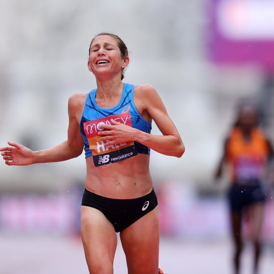 Sara Hall's Final Sprint to 2nd at the 2020 London Marathon