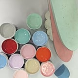 3:00pm: Meeting with the set designer, artist and sculptor Daimon Downey to discuss the colour palette and form to compliment the fashion collection.