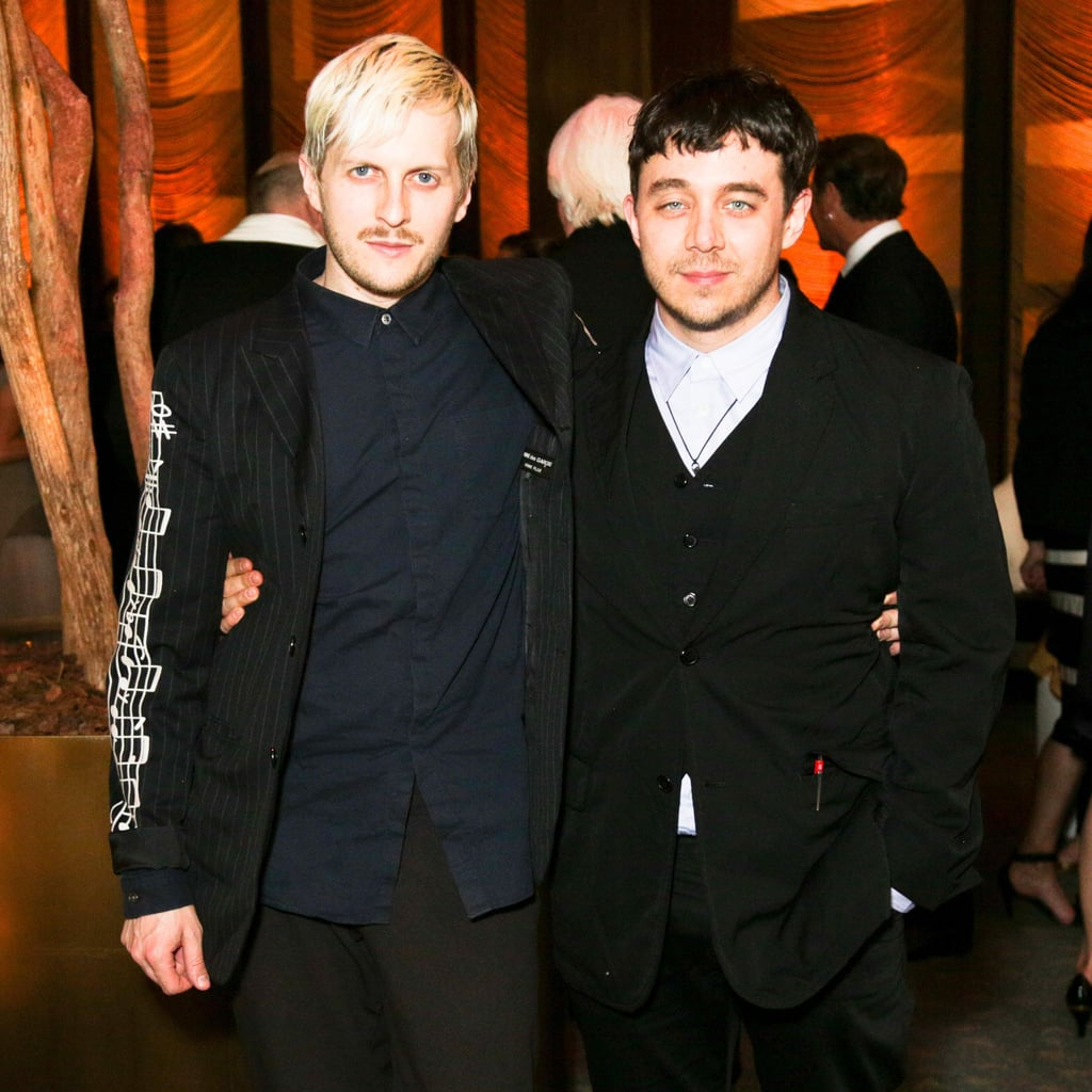 Christopher Peters and Shane Gabier at Vera Wang's Lifetime Achievement Award Celebration in New York. Photo: Benjamin LozovskyBFAnyc.com
