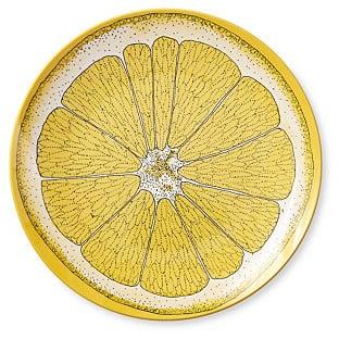 INNO-ARTS CORP. S/4 Lemon Melamine Salad Plates ($24)