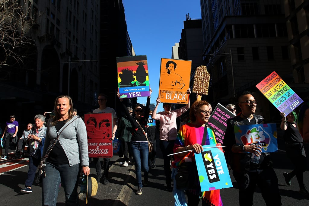 Sydnesiders Rally for Marriage Equality in the Country's Largest LGBTQ Demonstration Ever