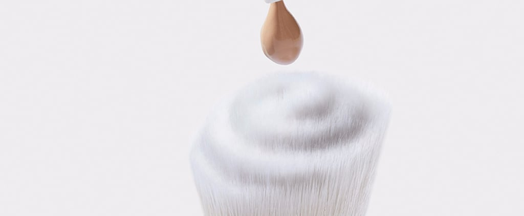 E.L.F. Beautifully Precise Swirl Foundation Brush