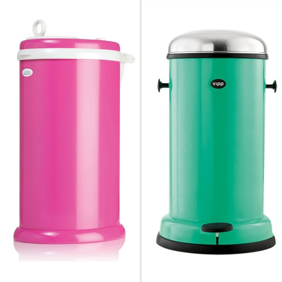 Colorful Diaper Pails