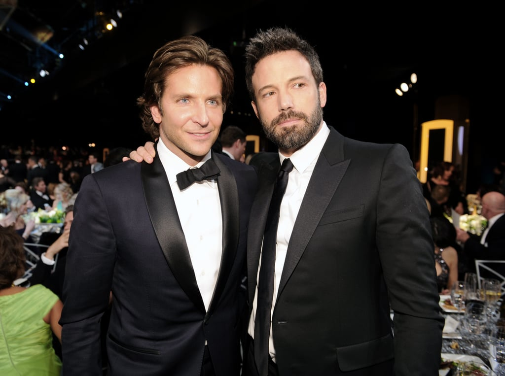Ben Affleck and Bradley Cooper stopped for a snap.