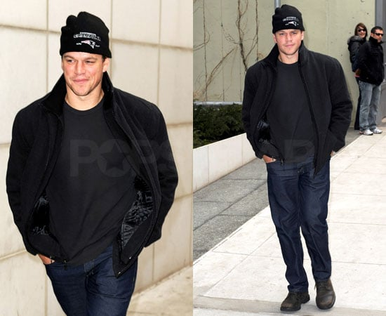 Matt Damon in NYC