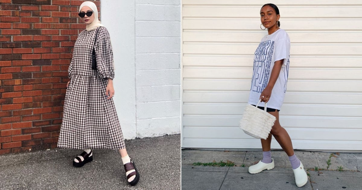 12 Ways to Style Sandals With Socks This Fall