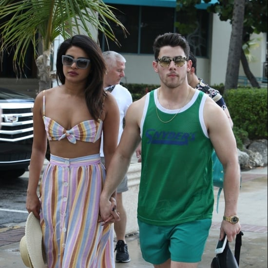 Priyanka Chopra Crop Top With Nick Jonas in Miami