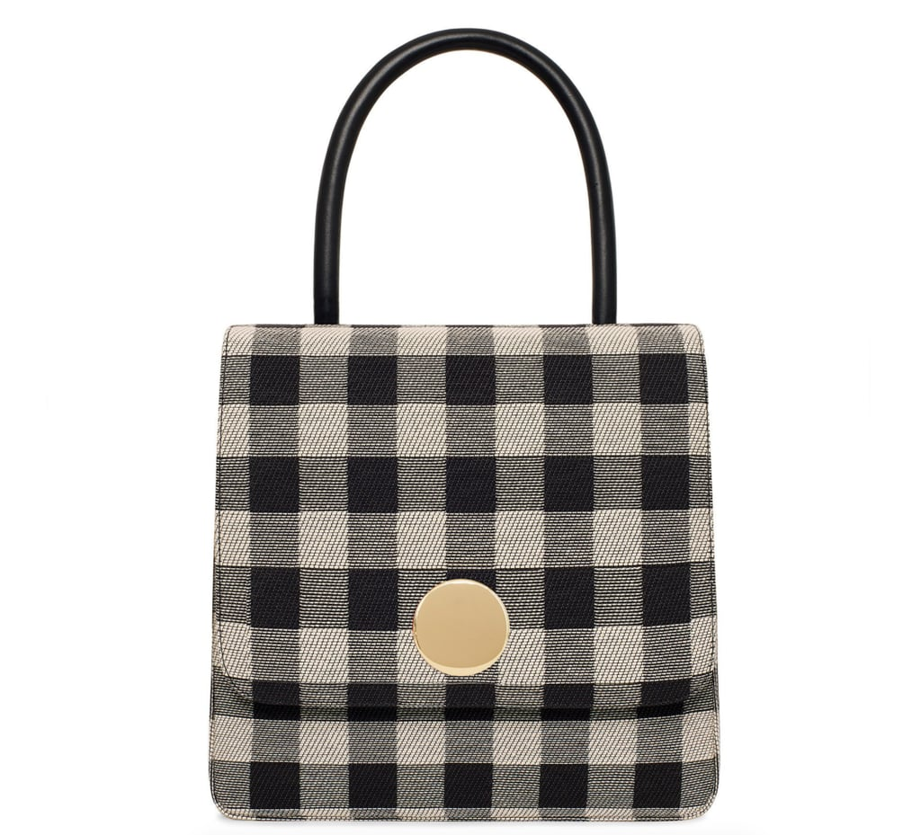 Mansur Gavriel Checker Posternak Bag ($745)