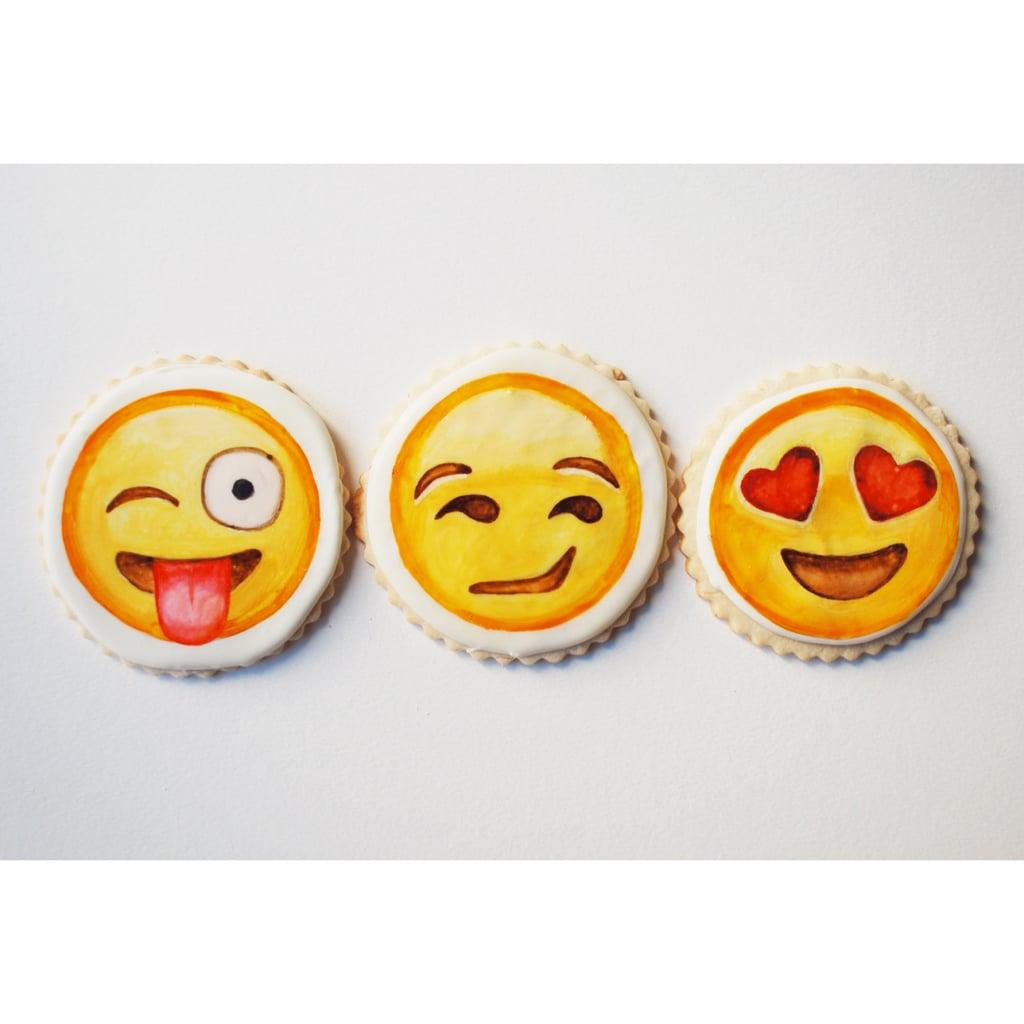 Emoji cookies ($120)