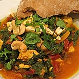 Indian-Spiced Chard